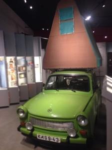 Trabi tent at Kulturbrauerei museum