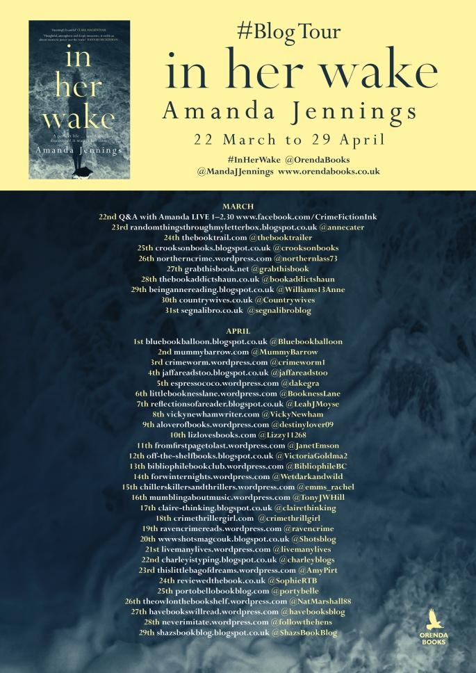 In Her Wake Blog tour