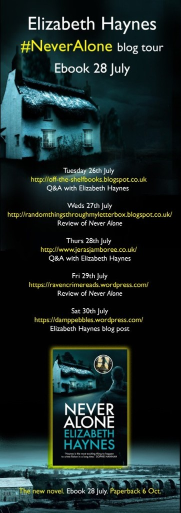 Never Alone blog tour