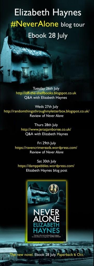 Never Alone blog tour